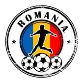Romania football — Stock Vector