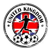 Storbritannien fotboll — Stockvektor