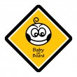Baby on board - Stock Vector