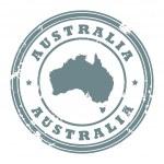 Australia stamp — Stock Vector #11573233