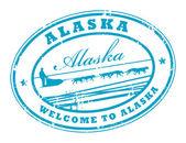 Alaska stamp — Stock Vector