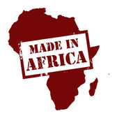 Made in Africa — Stock Vector
