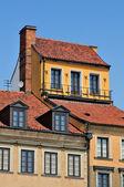 Arquitectura de casas residenciales — Foto de Stock