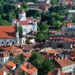Vilnius old town panorama — Stock Photo #11638837