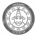 Zodiac Capricorn — Stock Vector
