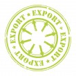 Export  stamp — Stock Vector