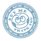 Buy Me stamp — Stock Vector