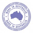 Made in Australistamp — Stock Vector #11740486