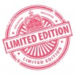 Limited Edition - Exclusive stamp — Stock Vector