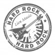 Постер, плакат: Hard Rock stamp