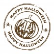 Royalty-Free Stock Vector Image: Happy Halloween stamp
