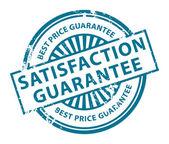 Satisfaction Guarantee stamp — Stock Vector