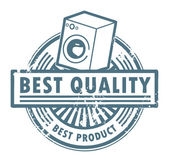 Best quality stamp — Stock Vector