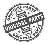 Original Parts stamp — Stock Vector