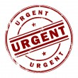 Urgent stamp — Stock Vector