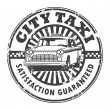 City Taxi stamp — Stock Vector