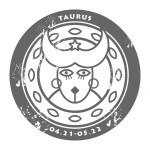 Zodiac Taurus — Stock Vector