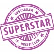 Superstar stamp — Stock Vector #11854533