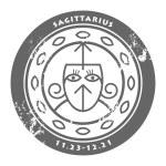 Zodiac Sagittarius — Stock Vector