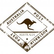 Stock Vector: Australistamp
