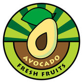 Fruit label — Stockvector