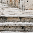 Stock Photo: Old stairs built in Cozumel - Mexico
