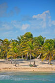 Beautiful tropical beach Costa Mya - landscape — Stock Photo