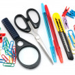 Assortment of stationery - Stockfoto