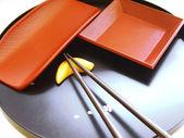 Oriental table setting — Stock Photo