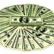 Dollars, money, hundred dollars - Stockfoto