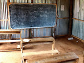 African classroom — Stock Photo