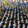 Muslim Friday prayer Tunahan mosque Turkey - Stock Photo