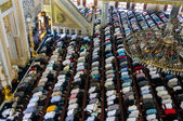 Muslim Friday prayer Tunahan mosque Turkey — Stock Photo