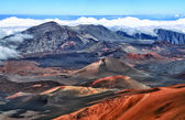 Crater of Haleakala volcano (Maui, Hawaii) - HDR image — Stock Photo