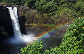 Rainbow Falls (Big Island, hawaii) 02 — 图库照片