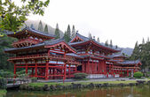 Byodo-In Temple (Oahu, Hawaii) — Stock Photo