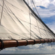 Stock Photo: Sail as background