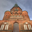 Stock Photo: Cathedral St. Nikolai in Greifswald (Mecklenburg-Vorpommern, Germany)