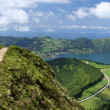 Viewpoint near Lagoa de Canario (Sao Miguel, Azores) - Stock Photo