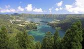 Viewpoint Vista do Rei at Sao Miguel (Azores) — Stock Photo