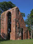 Old monastery Eldena near Greifswald (Germany) — Stock Photo