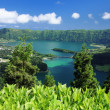 Viewpoint at Sao Miguel (Azores islands) — Stock Photo