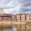 River in town — Stock Photo #11378682
