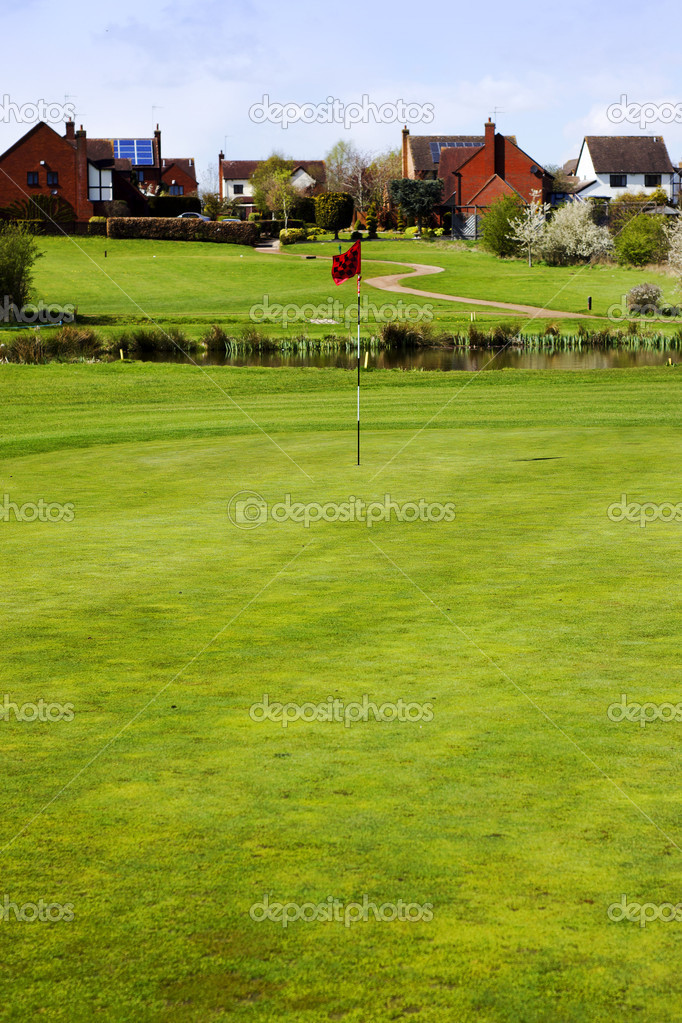 A golf course — Stock Photo #11376345