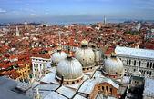 Venedik çatıları — Stok fotoğraf