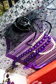 Groß einkaufen - luxus glamour-accessoires — Stockfoto