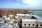 Venice roofs — Stock Photo