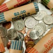 Stock Photo: Coins And Wrappers