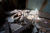 Trashed Room In The Sunlight — Stock Photo