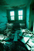 Trashed Room Vertical — Stock Photo